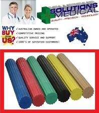 CANDO TWIST-N-BEND FLEX BARS STRETCH RESISTANCE HAND WRIST EXERCISER 6 COLOURS