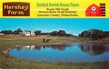 Hershey Farm Lancaster Strasburg Pennsylvania Amish Tours Postcard