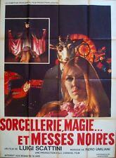 WITCHCRAFT 70 ANGELI BIANCHI ANGELI NERI French Grande movie poster 47x63 1969