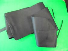Fishing rod woven cloth rod bag fits 12ft 2piece rods beach,carp etc.