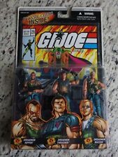 Dreadnok G.I. Joe Cobra COMIC PACK 3 Pack Buzzer Ripper Thrasher MOC