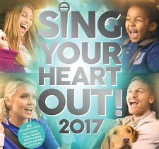 VARIOUS - SING YOUR HEART OUT 2017 BRAND NEW 2CD
