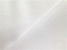 White 28 count Brittney Lugana 45 x 35 cm even weave Zweigart fabric