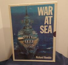 WAR AT SEA BY RICHARD HUMBLE 3 VOLUMES STILL SEALED IN PLASTIC