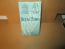 BOOM TOWN rare Classic vhs Wildcatters Oklahoma Oil CLARK GABLE Hedy Lamarr 1940