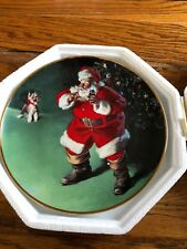 Coca Cola Collector Plate Limited Edition The Franklin Mint 1995