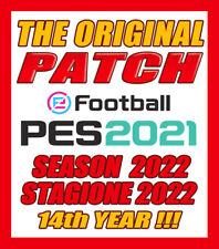 ORIGINAL PATCH PES 2021 -OPTION FILE AGGIORNAMENTO STAGIONE 2022  -PS4 PS5 PC-V4