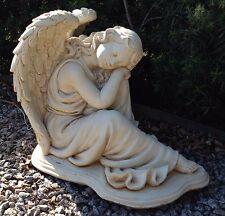 Gabrielle Angel Concrete Statue