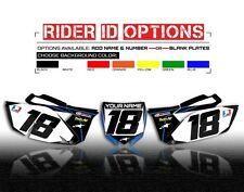 1996 1997 1998 1999 2000 2001 YZ 125 250 CUSTOM NUMBER PLATE BACKGROUND GRAPHICS