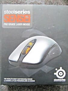 SteelSeries Sensei Pro Grade Laser Gaming Mouse - Black with chrome top