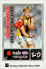 2008 NAB AFL Rising Stars Medalist Commemorative Sam Mitchell (2003) (Hawks)