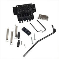 Tremolo Bridge Double Locking System for Electric Guitar Parts Black