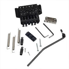 Floyd Rose Tremolo Bridge Double Locking System for Electric Guitar Parts Black