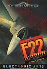 ## F22 Interceptor - SEGA Mega Drive / MD Spiel - TOP ##