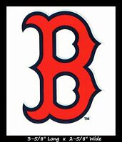 BOSTON RED SOX BASEBALL MLB LICENSED DECAL STICKER TEAM LOGO~BUY 1 GET 1 30% OFF