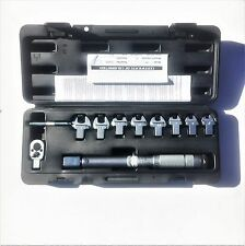 "1/4"" Interchangeable Torque Wrench. 7mm - 14mm Interchangeable heads"