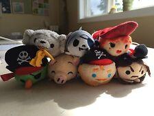 Disney Tsum Tsum Pirates Of The Caribbean Complete Set Of 7