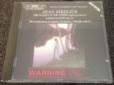 BIS CD-250 SIBELIUS maiden in the tower etc GSO/JARVI 1984 GER/AUS STEREO CD