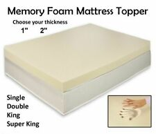 Memory Foam Mattress Topper All Depth and Sizes Soft Contour Memory FoamQUALITY
