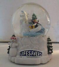 Lifesavers Musical Snowglobe The Nabisco Classic Collection Rare MIB