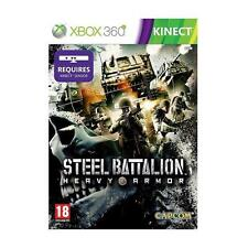 Pal version Microsoft Xbox 360 Steel Batallion heavy Armor