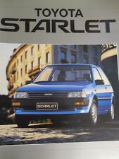 CATALOGUE AUTO : TOYOTA : STARLET ANNEES 1980