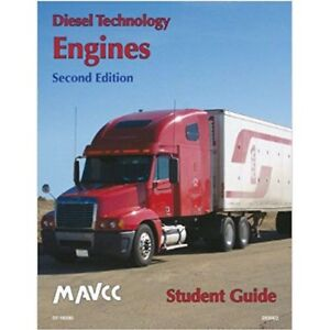 MAVCC Diesel Technology: Engines, Student Workbook 2nd Revised Edition SEALED