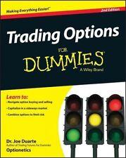 TRADING OPTIONS FOR DUMMIES - DUARTE, JOE, DR., M.D. - NEW PAPERBACK BOOK