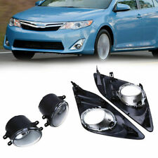 For Toyota Camry 12-14 Front Bumper Halogen Fog Light Driving Lamp w/Bulb Wiring