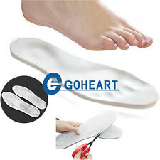 New 2 Pairs Memory Foam Insoles Shoe Comfortable Pads Foot Cushion Any Shoe Size