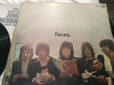 THE FACES L.P. 1970.   'THE FIRST STEP.'   WARNER BROS  -  K46053.   VG+ / EX.