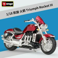 Bburago 1:18 Triumph Rocket III Motorcycle Bike Model New