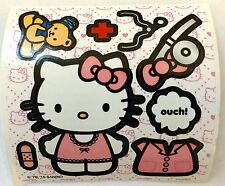 10 Hello Kitty Doctor Make Your Own Stickers Party Favors Teacher Supply