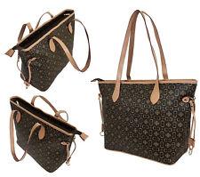 Damentasche Bag Handtasche Shopper Schultertasche Tasche Tragetasche LV5805Hell