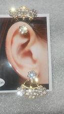 Newest Women Fashion Double Sided Earring Trendy girls ear cuff Earclip Gifting
