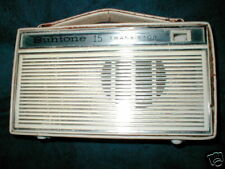 SUNTONE SUN-TONE 15 TRANSISTOR COAT-POCKET RADIO WORKS