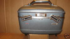 Vintage American Tourister Cosmetic Make Up Case Train Case Travel Case