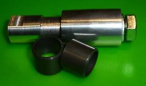 Shock Bushing Tool for rear Fox, Rock Shox, Marzocchi + 2x Polymer Bush DP DU