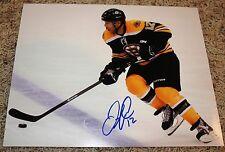 Jarome Iginla signed 11x14 photo Boston Bruins COA
