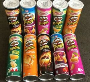 Pringles  Original, Sour Cream & Onion,Texas BBQ,Salt & Venigar +++ New Flavour