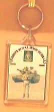Queen's Royal Irish Hussars key ring..