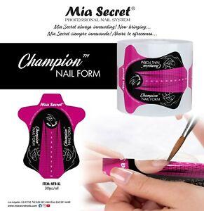 Mia Secret Champion Nail Form 300pcs/roll FREE Priority Mail
