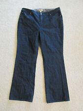 "Women's Motto Essentials Dark Blue Jean Pants Plus Size 18W Bootcut (40""x31"")"