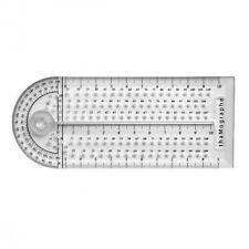 thaMographe Instrument 4 en 1 (Règle, Trace Cercle, Equerre, Rapporteur)