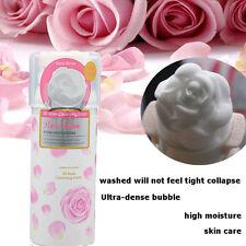 3D Rose Cleansing Foam Beauty Whip Soap Foam Face Wash Foaming Cleanser 150g