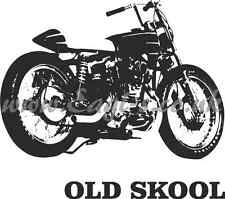 Old Skool Rat Look Moto Chopper Mur Art
