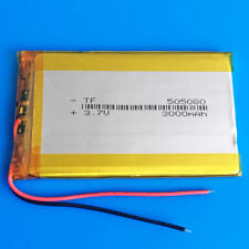 3.7V 3000mAh Li Po Rechargeable Battery 505080 for Tablet PC Cell phone PAD MID