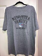 New listing Old Time Hockey Gray NHL NY Rangers Hockey Tee Size 2XL