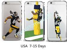 Football [Antonio Brown] Silicone Phone Cover Case For iphone 6/6s&7 Plus 5s