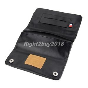 Smoking Accessory PU Leather Tobacco Pouch Cigarette Holder Wallet Bag Purse